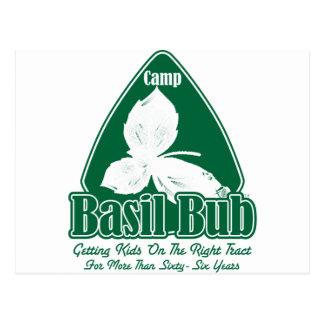 Camp Basil Bub Postcard