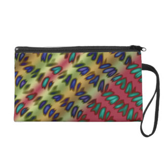 Camp Blanket Wristlet Purse