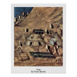 Camp By Simone Martini Posters