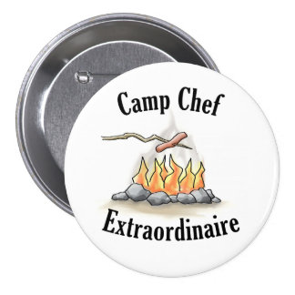 Camp Chef Extraordinaire Button