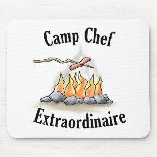 Camp Chef Extraordinaire Mousepad
