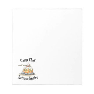 Camp Chef Extraordinaire Notepad