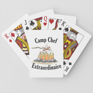 Camp Chef Extraordinaire Playing Cards