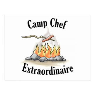 Camp Chef Extraordinaire Postcard