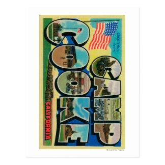 Camp Cooke California - Large Letter Scenes Postcards