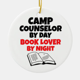 Camp Counselor by Day Book Lover by Night Ornament