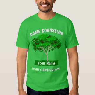 Camp Counselor Campground T-shirt