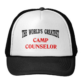 Camp Counselor Mesh Hat