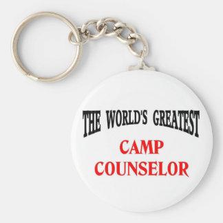 Camp Counselor Keychain