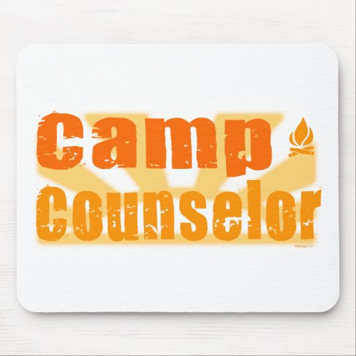 Camp Counselor Mouse Pad