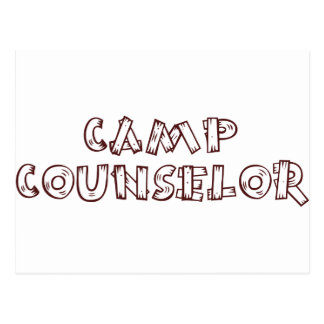 Camp Counselor Post Cards