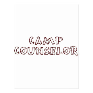 Camp Counselor Post Card