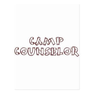 Camp Counselor Postcard