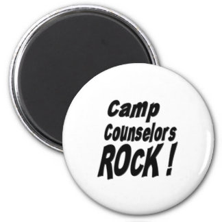 Camp Counselors Rock! Magnet