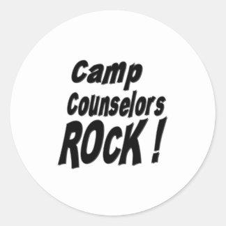 Camp Counselors Rock! Sticker