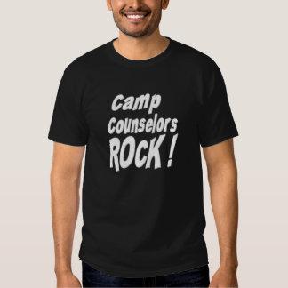 Camp Counselors Rock! T-shirt