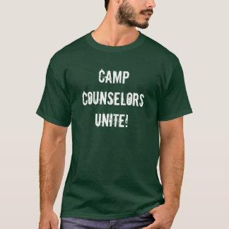 Camp Counselors UNITE! T-Shirt
