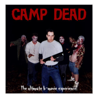Camp Dead Poster