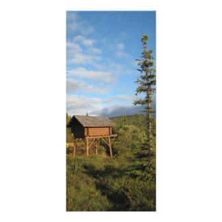 Camp Denali Cache Bookmark Rack Card