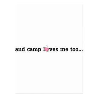Camp does love you too.... postcard