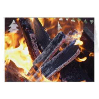 Camp Fire 1 Stationery Note Card