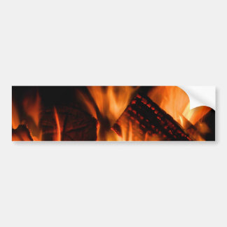 Camp Fire Bumper Sticker