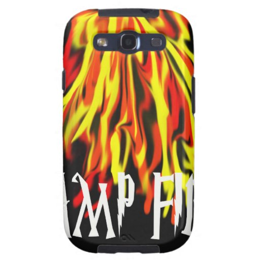 Camp Fire Cool Rich Texture Galaxy SIII Case