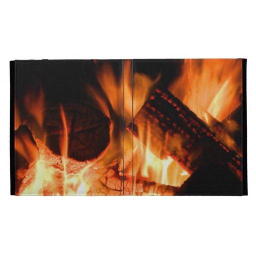 Camp Fire iPad Folio Case