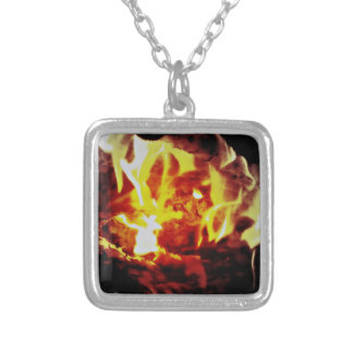 camp fire necklace