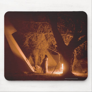 Camp Fire No. 2 Mouse Pad