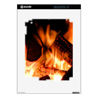 Camp Fire Skin For iPad 2