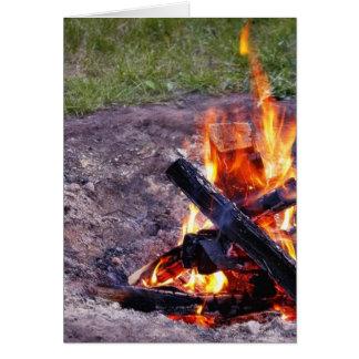 Camp Fires Card