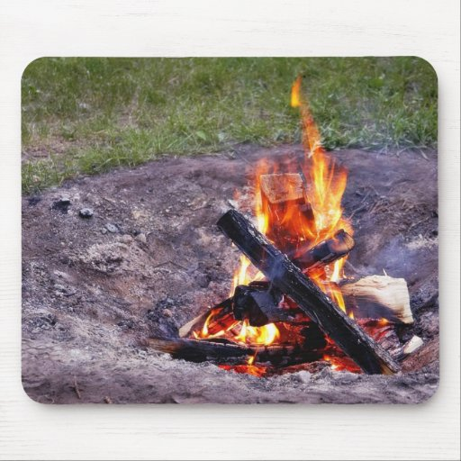 Camp Fires Mouse Pads