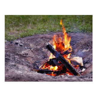 Camp Fires Post Cards