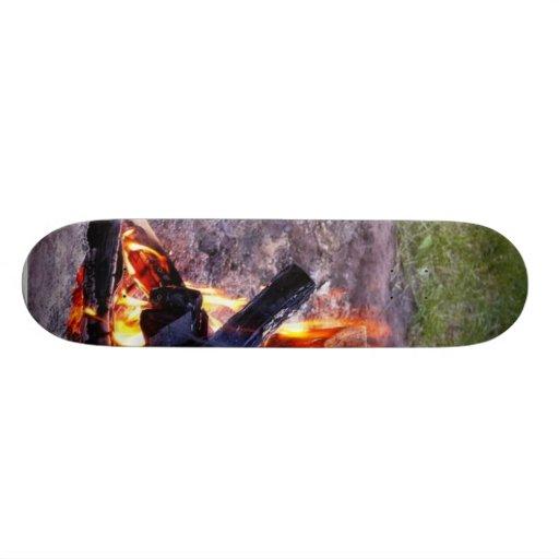 Camp Fires Skate Board
