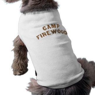 Camp Firewood Pet Shirt