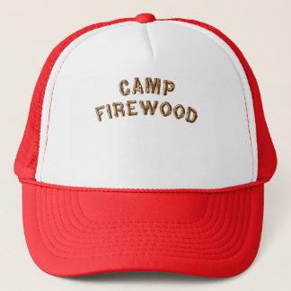Camp Firewood Trucker Hat