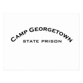 Camp Georgetown State Prison Logo Post Cards