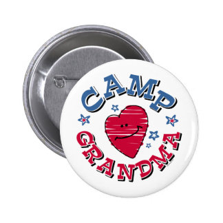 Camp Grandma Button