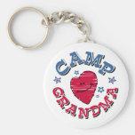 Camp Grandma Keychain