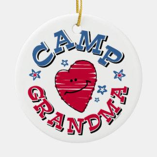 Camp Grandma Ornament