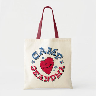 Camp Grandma Tote Bag