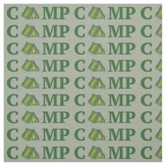 CAMP Green Tent Summer Camping Camper Fabric