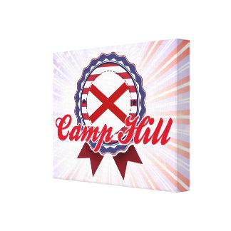 Camp Hill, AL Lienzo Envuelto Para Galerías