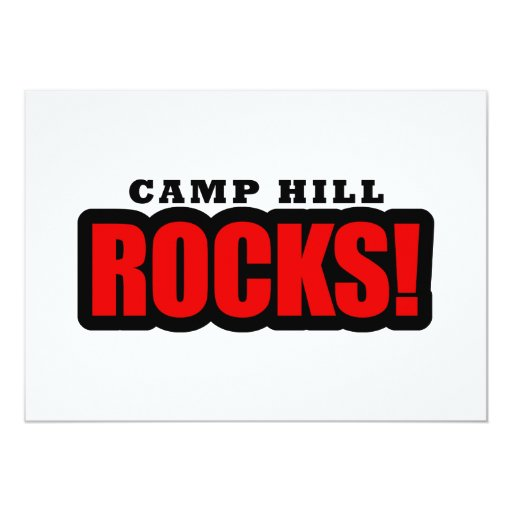 Camp Hill, Alabama City Design Card