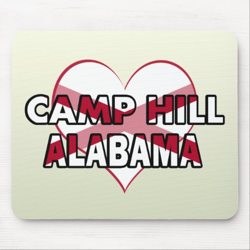 Camp Hill, Alabama Mouse Pad