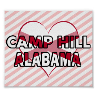 Camp Hill, Alabama Posters