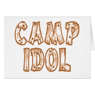 Camp Idol Card