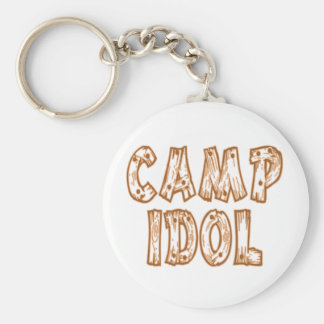 Camp Idol Keychain