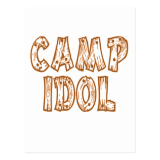 Camp Idol Postcard